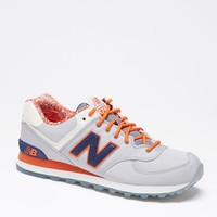 New Balance 574 Luau Gray Shoes - Mens Shoes - Grey/Navy