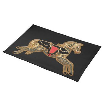 Sadie Spotted Horse Cloth Placemat