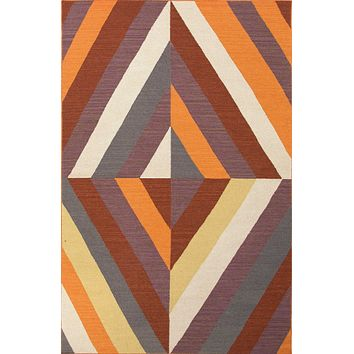 Jaipur En Casa by Luli Sanchez Flat-Weave Tunnel Area Rug