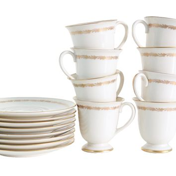 Franciscan China Arcadia Gold Demitasse Set