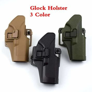 Military Special Forces Quick Release Hunting Tactical Right Hand Paddle Gear Accessories Waist Belt Gun holster