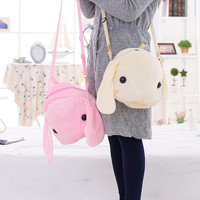 Japanese rabbit backpack messenger bag