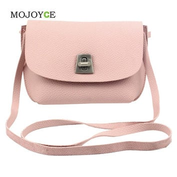 Famous  Women Bags Small Hasp Lock Women Messenger Bags PU Leather Shoulder Purse and Handbag Bolsas Feminina Clutch SN9