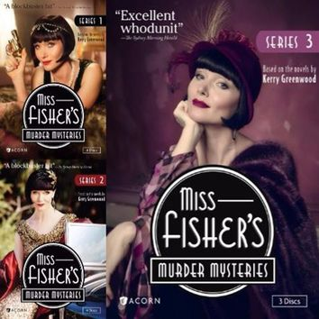 Miss Fisher's Murder Mysteries DVD Series 1-3 Set
