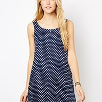 Love Polka Dot Swing Dress