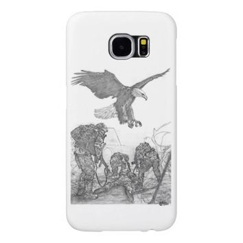 Eagle & Soldiers Samsung Galaxy S6 Case