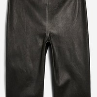 **Leather Cycling Shorts by Boutique