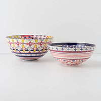Anthropologie - Patchwork Harvest Bowl