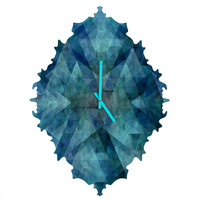 Deniz Ercelebi Blue 2 Baroque Clock