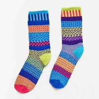 Solmate Socks Bluebell Crew Sock - Urban Outfitters