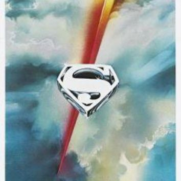 "Superman Poster Movie Poster Insert 14""X36"""