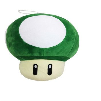 Super Mario party nes switch 2017    Mushroom Plush Toys Green Mushroom Plush Dolls 20cm Toad Plush Toy Dolls AT_80_8
