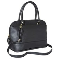 Merona® Satchel Handbag with Removable Crossbody Strap - Black