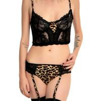 Leopard Love Bra Set