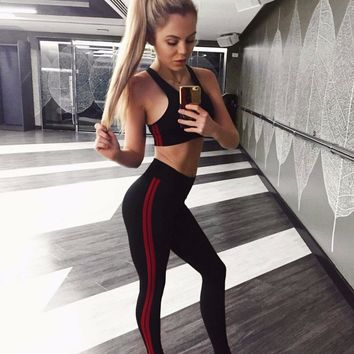 workout set 2 piece set women suit for fitness two piece outfit crop top and legging set female tracksuit sweat pants set HS0358