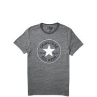 Converse - Mens Heathered Chuck Patch Tee - Jet Black -