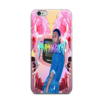 Anamanaguchi Lil B The BasedGod Anime Gameboy Color Pink iPhone 4 4s 5 5s 5C 6 6s 6 Plus 6s Plus 7 & 7 Plus Case