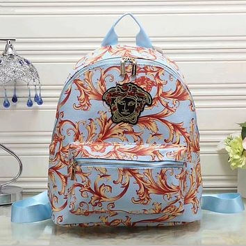 Versace Women Casual School Bag  Backpack