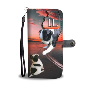 Amazing Boston Terrier Print Wallet Case-Free Shipping-IL State