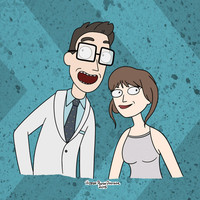 Yourself in the Rick and Morty style! drawing personalized custom gift christmas birthday cartoon art commission cute cool unique awesome