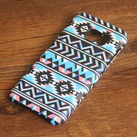 Aztec Chevron Geometric Samsung Galaxy S7 Edge S7 Case Galaxy S8+  S3 Samsung Note 5/3/2 Cover S7-032