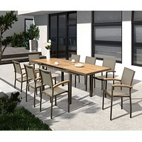 Outdoor Dining Set (8 Chairs) | Higold Heck