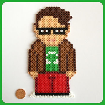 Big Bang Theory Leonard Perler Wall Art or Magnet