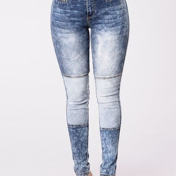 Hint Of Your Love Jeans - Indigo