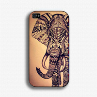 Aztec Elephant iphone case, iphone 4 case,iphone 4s case,iphone 5 case,hard case cover,Mobile phone cover,Personalized case