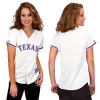 Texas Rangers Women's Replica Jersey by Majestic Athletic - MLB.com Shop
