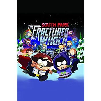 GameStop Exclusive South Park The Fractured but Whole Double Sided Poster