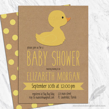 Best Ducky Baby Shower Products on Wanelo