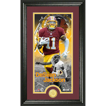 DeSean Jackson Supreme Bronze Coin Panoramic Photo Mint
