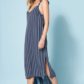 Lottie Moss Strappy Back Midi Dress at PacSun.com
