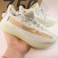 """adidas Yeezy Boost 350 V2 """"Hyperspace"""" Toddler Kid Shoes Child Sneakers - Best Deal Online"""