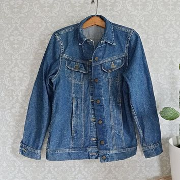 Vintage 1980s Lee Denim + Chore Coat