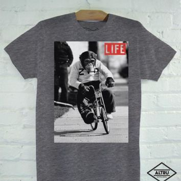 Altru Apparel Monkey on the Bike T-Shirt (XL & 2XL Only)