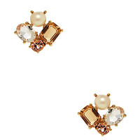 Kate Spade Kate Spade Cluster Earrings Neutral Multi ONE