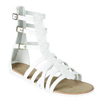 Hayden Sandals - White
