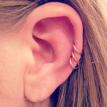 Best Tiny Hoop Earrings For Cartilage Products On Wanelo