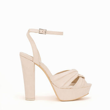 Twisted Toe Platform, NLY Shoes