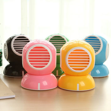 USB Leaf Mini Lovely Stylish Fragrance Fan [6270381254]