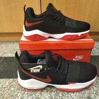 """Nike Paul George"" Men Sport Casual Basketball Sneakers Running Shoes"