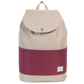 Reid Backpack Brindle / Windsor Wine