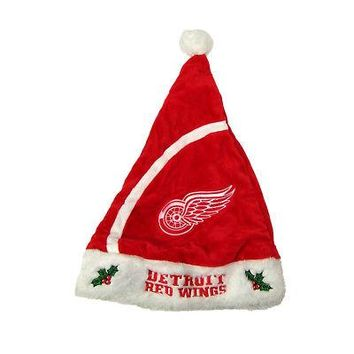Licensed Detroit Red Wings Official NHL Christmas Santa Hat by FC 204942 KO_19_1