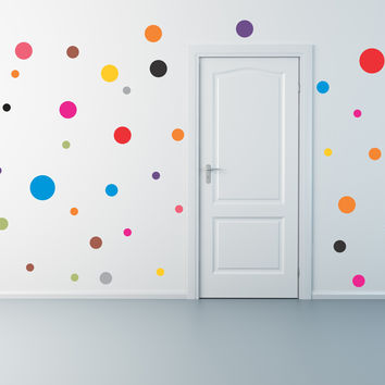 Polka Dot wall decal set