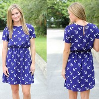 Everly: Making Moves Anchor Dress