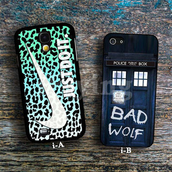 Just do it leopard & Doctor who bad wolf