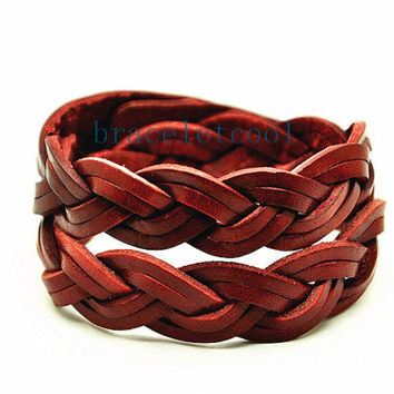 Wrap Bracelet Fashion Leather Bracelet Women Leather Jewelry Bangle Cuff Bracelet Men Leather Bracelet CR14