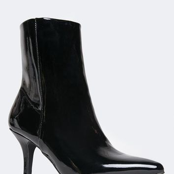 Pointed Toe Ankle Bootie